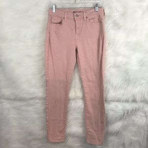 7 FOR ALL MANKIND Pink Skinny Jeans Sz. 27